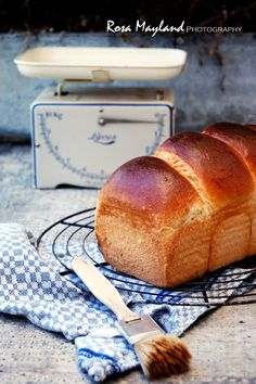 Cardamom and Orange Brioche Bread (Tang Zhong method)