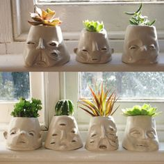 weird plant pots weird and wonderful flowerpot sculptures gardenias