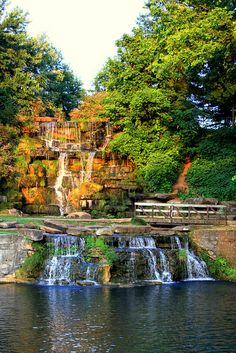 Cold Water Falls, Tuscumbia, Alabama by Brent Moore