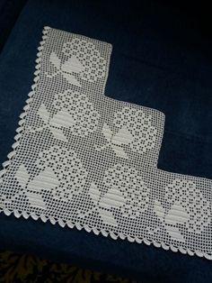 Yeni köşe modelini Crochet Bedspread, Filet Crochet, Poppies, Lace, Women, Crochet Pillow Covers, Crochet Edgings, Crochet Decoration, Crochet Table Runner