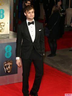 Actor Douglas Booth - 2014 BAFTAs Red Carpet Arrivals