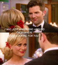 Wedding Vows That Make You Cry Funny Smile Wedding Vows That Make You Cry, Best Wedding Vows, Wedding Movies, Parks And Recs, Ben Wyatt, Funny Watch, Parks Department, Leslie Knope, People Talk