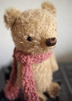 ...little bear, little bear...barely there;  little bear, little bear, looking for a home...but he needs very little care.