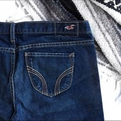 Hollister denim Bermuda shorts Summer staple! Only worn once! Hollister Shorts Bermudas