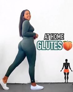 Glutes, At Home Workouts, Fitness, Gluteal Muscles, Home Workouts, Excercise, Glute, Health Fitness, Home Fitness