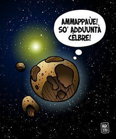 """SPACE NEWS  1999 TZ10 parla Ciociaro!   Il Minor Planet Center assegna ufficialmente all'asteroide 1999 TZ10, scoperto nel 1999 dall'astrofisico italiano Gianluca Masi, il nome """"Frosinone""""."""