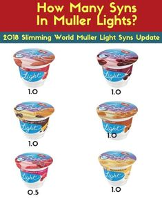 Syn Free Strawberry Muller Lights for Slimming World. Today we are bringing you creamy homemade strawberry muller lights using fresh strawberries… Aldi Slimming World Syns, Slimming World Sweets, Slimming World Speed Food, Slimming World Survival, Easy Slimming World Recipes, Slimming World Syn Values, Slimming World Dinners, Slimming World Breakfast, Slimming World Plan