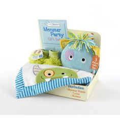 Baby Closet Monster gift set.
