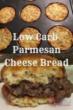 Low Carb Parmesan Cheese Bread