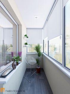 Просторная лождия / balcony / balcony garden / balcony garden / balcony decor ideas / small balcony ideas / small balcony ideas / by Pavel Polinov Studio