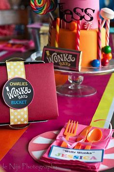 charlie and the chocolate factory party. like the idea for games especially from this site