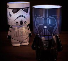 Star Wars LookaLites in Darth Vadar or Stormtrooper flavours