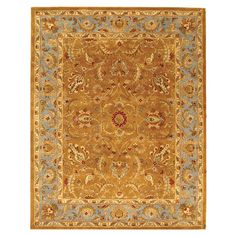 You should see this Heritage Brown & Blue Rug on Daily Sales!   $446