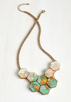 The Perfect Statement Necklace for any traveler.  I love it!