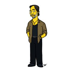 Sons of Anarchy Characters Simpsonized |