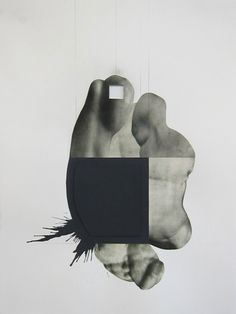 Leigh Wells : 'Deception' Series(Collages)