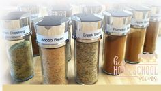Make Your Own Spice Blends