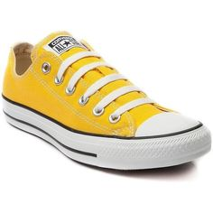 Converse Women's Shoes Chuck Taylor OX Low Sneakers Canvas Made ($59) ❤ liked on Polyvore featuring shoes, sneakers, wide width sneakers, converse footwear, wide shoes, wide fit shoes and converse shoes