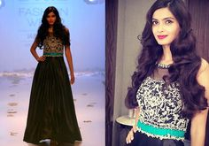 Diana Penty enlivens the ambience as showstopper for Rocky S at LFW 2014