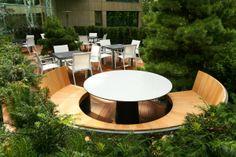 Garden Design in London by The Garden Builders, landscape design Contemporary Garden Design, Landscape Design, Modern Design, Outdoor Seating Areas, Garden Seating, Landscaping With Rocks, Modern Landscaping, Outdoor Garden Furniture, Outdoor Decor