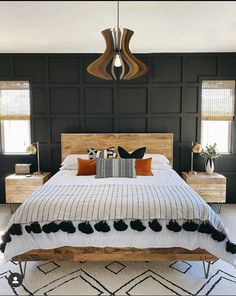 Home Interior Bedroom .Home Interior Bedroom Dream Bedroom, Home Bedroom, Bedroom Inspo, Long Bedroom Ideas, Zen Bedroom Decor, Western Bedroom Decor, Apartment Bedrooms, Fantasy Bedroom, Wicker Bedroom