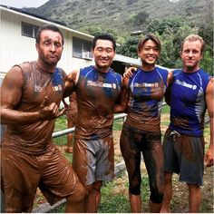 Mud day! Hawaii five o