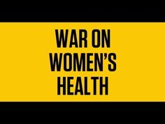 The GOP War on Women's Health is Real - everyone needs to watch this informative video.
