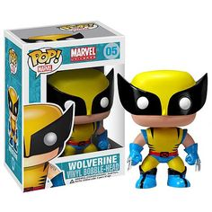 Toy - POP - Vinyl Bobble Figure - X-Men - Wolverine (Marvel)