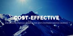 5 Reasons Social Media is the Best Customer Service Channel