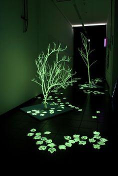 """Alice Rabbi - Spazio Arte Giovane """"Lumia"""", gennaio 2013, installazione mostra"""