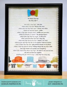Write Snap Scrap: Father's Day Gifts From Kids: Fancy Pants