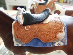 tutorial doll sized saddle Marilyn's Hobby : Model Horse Western Tack, Showing and Judging Model Horse Shows