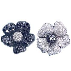 De Grisogono flower earrings - kickass offset.