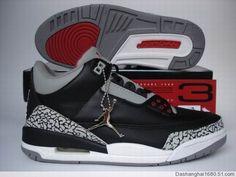 timeless design 5107c 5e6bd Air Jordan Retro 3 2001 Black Cement Grey. Jordan Shoes For KidsJordan ...