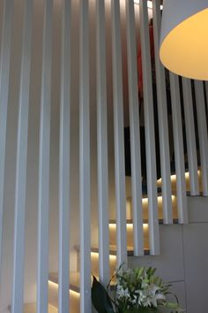 Punainen remonttitupa - Blogi   Lily.fi Up House, Staircases, Hallways, Creative Inspiration, Divider, House Ideas, Stairs, Lily, House Design