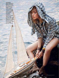 Cora Keegan By Carlotta Manaigo For Elle Italia May 2013