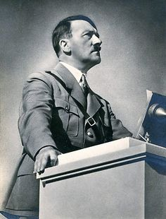 Adolf Hitler (1934). A man on a mission. Within the next 5 years, the German nation will be relieved of all their troubles. Health, Pride, and Success will return to every household. Der Führer, a true politician, will work for his nation.(photo via putschgirl).