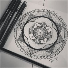 Mandala by: Dr. Techno  Also have a look at my instagram: @Art_of_drt