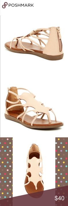 Elegant Footwear Omega Sandal Nude US 6.5 BNWBox Super chic sandal from Elegant Footwear Omega Sandal in nude color size US6.5 . Get ready for spring and summer look.. make me an offer $57.99 Retail Price Elegant Footwear Shoes Sandals