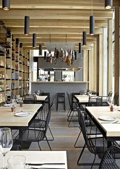 Cosy, modern and stylish restaurant interior design ideas