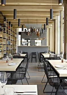 Cosy, modern and stylish restaurant interior design ideas