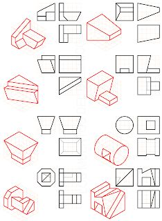 losmuertosdeldiedrico: PERSPECTIVA ISOMÉTRICA 1º BACHILLERATO Isometric Drawing Exercises, Orthographic Drawing, Architecture Portfolio, Architecture Diagrams, Urban Analysis, Concept Diagram, Architectural Presentation, Architectural Models, Architectural Drawings