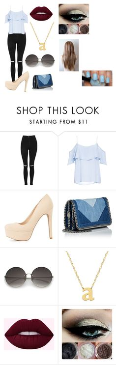 """""""Avery"""" by lauren-paul-sets ❤ liked on Polyvore featuring Topshop, BB Dakota, Charlotte Russe, STELLA McCARTNEY and Jane Basch"""