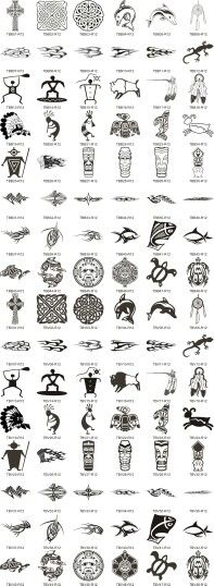 Baybayin alibata typography philippines symbols and for Filipino tribal tattoos and meanings
