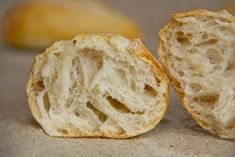 Mittelporig, equipped with a very loose and mildly sour flavor: Sachsen rolls Pastry Recipes, Bread Recipes, Cooking Recipes, Too Many Cooks, German Bread, Bread Rolls, Fabulous Foods, Bread Baking, Bakery
