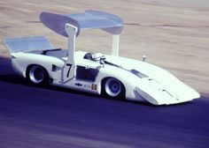 Later in 1969 this shot shows how far the Chaparral 2H morphed from its original design concept.