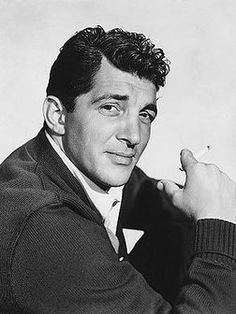 Dean Martin  was so handsome and  what a beautiful voice he had.