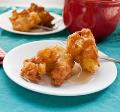 Apple Fritters with Brown Butter Glaze | Neighborfood