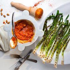 almond, pepper, romesco sauce