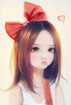 Imagen de art, girl, and illustration. Girls Cartoon Art, Cartoon Girl Images, Girly Art, Cute Art, Art Girl, Art, Cute Cartoon Wallpapers, Cute Drawings, Cartoon Art